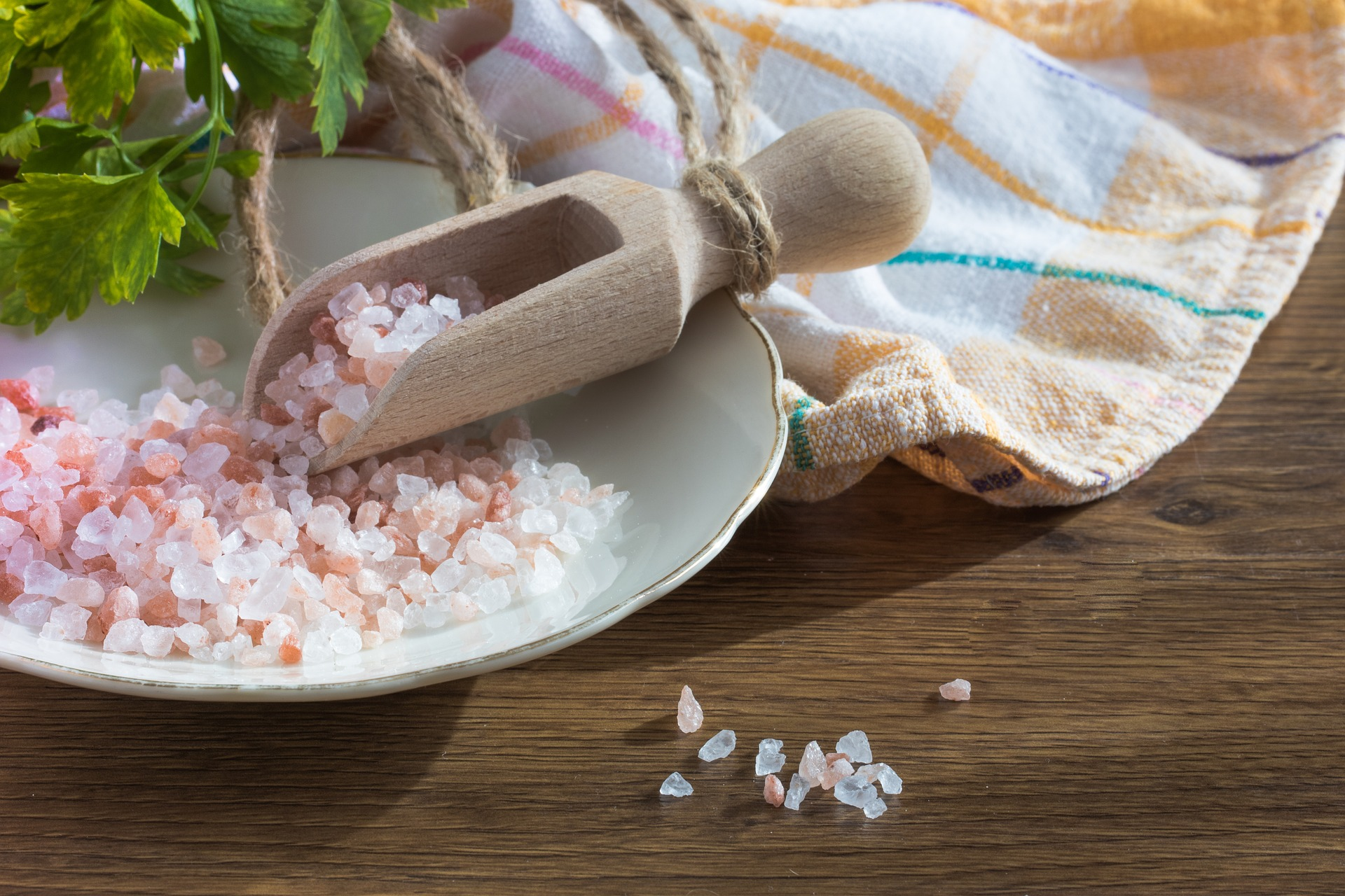 Čisto brez soli ne bo šlo